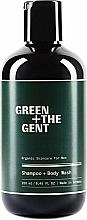 Kup Szampon i żel do mycia ciała dla mężczyzn - Green + The Gent Shampoo + Body Wash