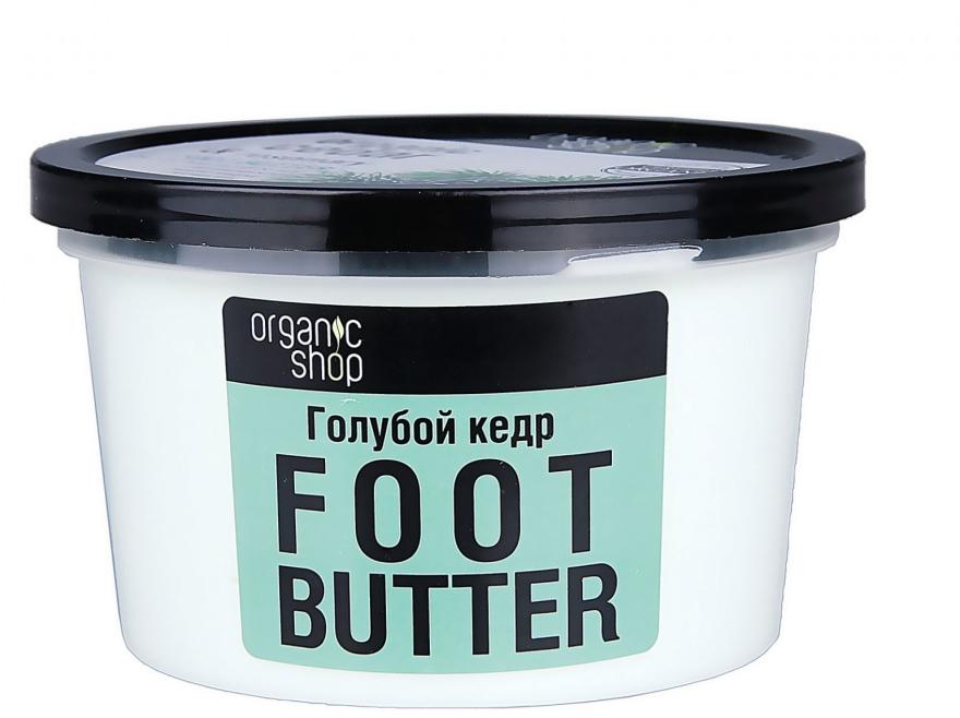 Masło do stóp Błękitna sosna - Organic Shop Organic Rosemary & Pine Nut Foot Butter — фото N2