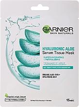 Kup Nawilżająca maska w płachcie z aloesem i kwasem hialuronowym - Garnier Skin Naturals Hyaluronic Aloe Tissue Mask
