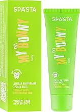 Kup Naturalna pasta do zębów dla dzieci Ochrona i kompleksowa pielęgnacja - Spasta My Bunny