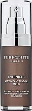 Kup Serum do twarzy na noc z antyoksydantami - Pure White Cosmetics Overnight Antioxidant Renewal Serum