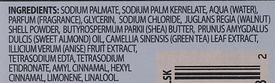 Naturalne mydło peelingujące w kostce - Baylis & Harding Goodness Sea Kelp & Peppermint Natural Bar Soap — фото N4