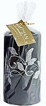 Kup Świeca dekoracyjna, czarna 7x14 cm - Artman Amelia
