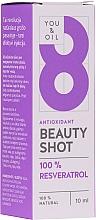 Kup Różane serum witaminowe 3 w 1 do twarzy - You & Oil Serum Facial N8 Antioxidante Natural Vegano Resveratrol Beauty Shot