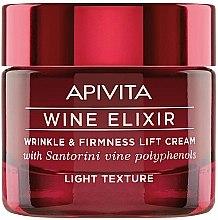 Kup Lekki przeciwzmarszczkowy krem do twarzy z polifenolami wina Santorini - Apivita Wine Elixir Cream