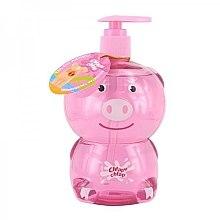 Kup Żel do kąpieli dla dzieci o zapachu galaretki truskawkowej Świnka - Chlapu Chlap