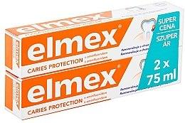 Kup Zestaw - Elmex Toothpaste Caries Protection (toothpaste/2x75ml)