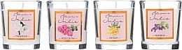Kup Zestaw świec zapachowych - Ambientair Le Jardin de Julie