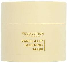 Kup Maska na noc do ust Wanilia - Revolution Skincare Vanilla Lip Sleeping Mask
