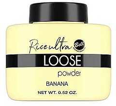 Kup Sypki puder bananowy do twarzy - Bell Loose Rice Fixing Banana Powder