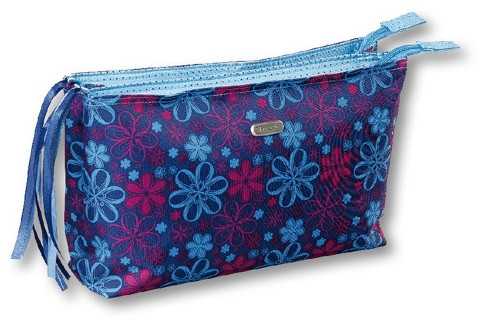 Kosmetyczka Ribbons 93968, niebiesko-błękitna - Top Choice — фото N1