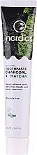 Kup Wybielająca pasta do zębów z węglem drzewnym i matchą - Nordics Whitening Charcoal Matcha Tooshpaste