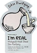 Kup Maseczka do twarzy na tkaninie Makgeolli - Tony Moly I'm Real Makgeolli Mask Sheet