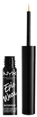 Wodoodporny eyeliner w płynie - NYX Epic Wear Liquid Liner