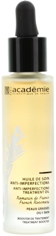 Olejek oczyszczający zapobiegający powstawaniu niedoskonałości - Académie Anti-Imperfections Treatment Oil — фото N1