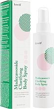 Kup Oczyszczający spray do ciała z madekasozydem - Petitfee&Koelf Madecassoside Clarifying Body Spray