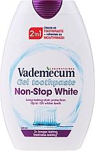 Kup Wybielająca pasta do zębów i płyn do płukania jamy ustnej 2 w 1 - Vademecum Non-Stop White 2in1 Toothpaste + Mouthwash