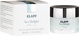 Kup Bogaty mus do twarzy na dzień i noc - Klapp Sea Delight Day & Night Mousse Rich