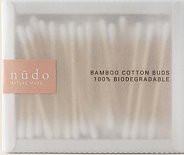 Kup Bambusowe patyczki kosmetyczne - Nudo Nature Made Bamboo Cotton Buds