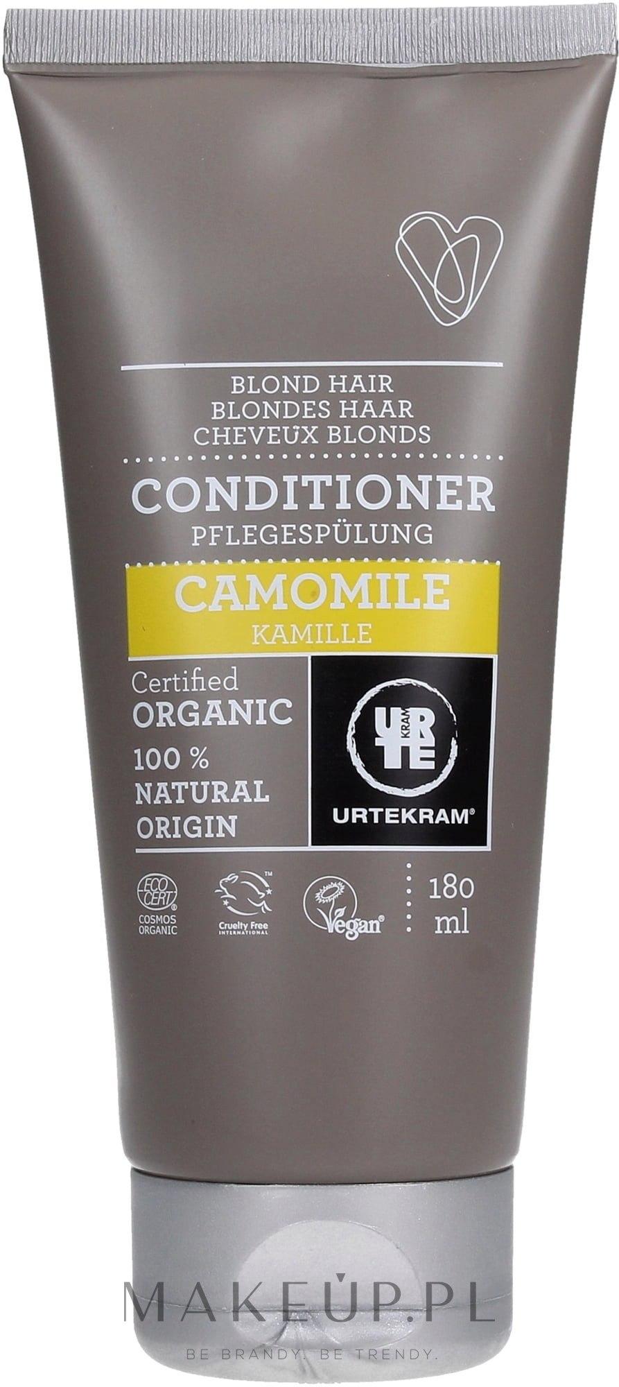 Organiczna odżywka do włosów blond Rumianek - Urtekram Camomile Blond Hair Conditioner — фото 180 ml