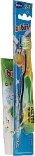 Kup Zestaw z żółto-zieloną szczoteczką dla dzieci - Bobini 2-7 (toothbrush + toothpaste/75ml)
