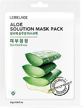 Kup Maseczka do twarzy w płachcie z aloesem - Lebelage Aloe Solution Mask