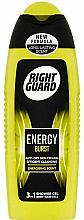 Kup Żel do mycia włosów, ciała i twarzy 3w1 - Right Guard Energy Burst Shower Gel