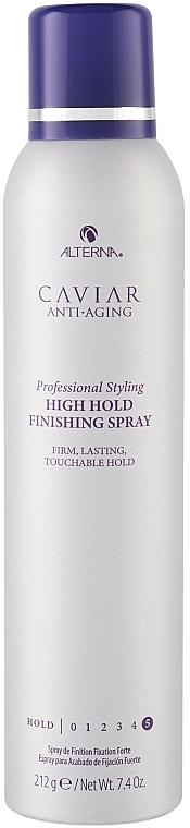 Silnie utrwalający lakier do wlosów - Alterna Caviar Anti Aging Professional Styling High Hold Finishing Spray — фото N1
