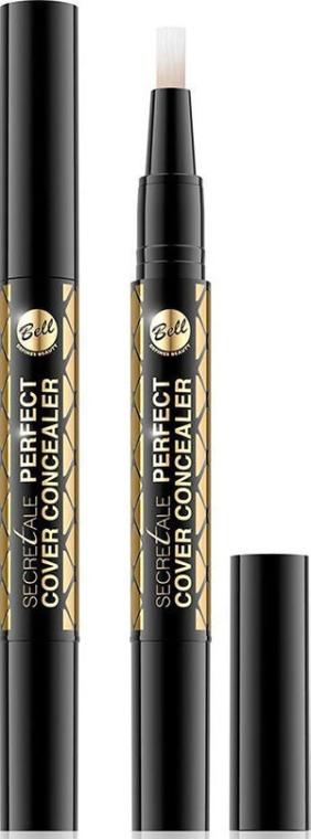 Korektor w płynie maskujący niedoskonałości skóry - Bell Secretale Perfect Cover Concealer — фото N1