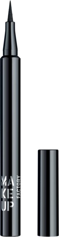 Płynny eyeliner w pisaku - Make Up Factory Full Precision Liquid Liner — фото N1