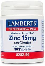 Kup Suplement diety Cynk, 15 mg - Lamberts Zinc 15mg