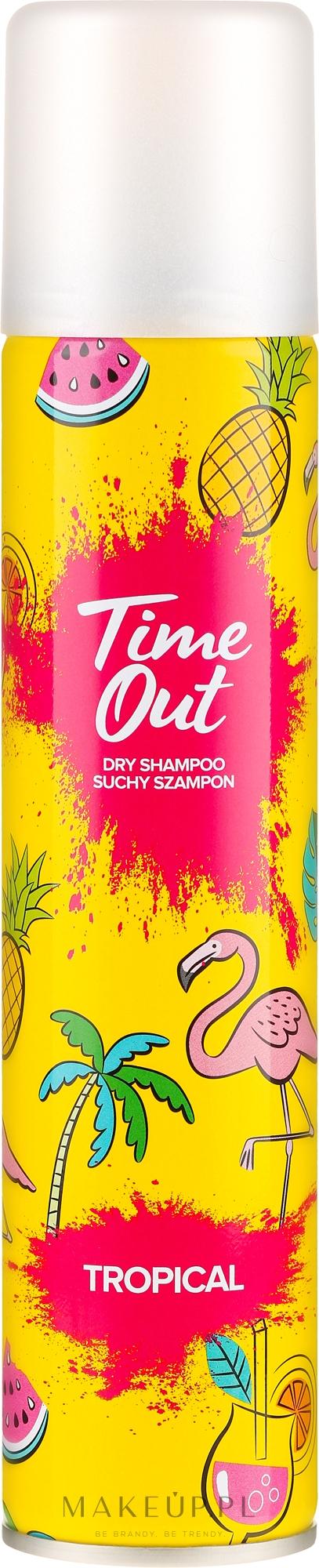 Suchy szampon do włosów Tropikalny - Time Out Tropical — фото 200 ml