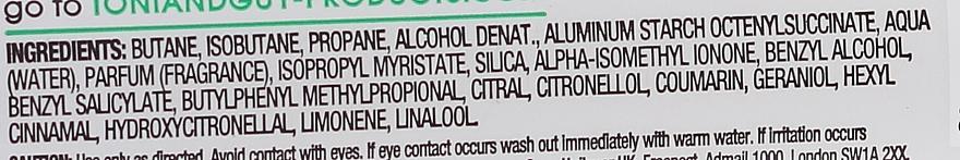 Odświeżający suchy szampon do włosów - Toni & Guy Instant Refresh Dry Shampoo — фото N5