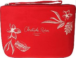 Kup Zestaw - Christophe Robin Regenerating Travel Kit (shm/75ml + balm/50ml + mask/50ml + bag)