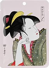 Kup Maska z kamelią i matchą w płachcie - Mitomo Camellia Flower Oil & Matcha Essence Mask