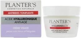 Kup Przeciwstarzeniowy tonizujący krem do twarzy z kwasem hialuronowym - Planter's Hyaluronic Anti-Age Face Cream Anti-Wrinkle Toner