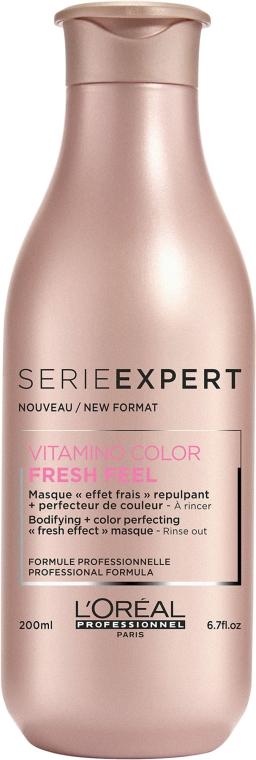 Maska do włosów koloryzowanych - L'Oreal Professionnel Vitamino Color Fresh Feel Mask — фото N2