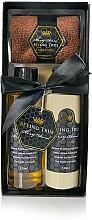Kup Zestaw kosmetyków do ciała - Beeing True (sh/gel 125 ml + sh/balm 125 ml + towel)
