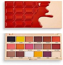 Kup Paleta cieni do powiek - I Heart Revolution Eyeshadow Chocolate Palette Cinnamon