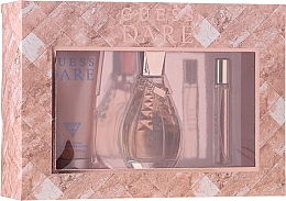Kup Guess Dare - Zestaw (edt 100 ml + b/lot 200 ml + edt 15 ml)