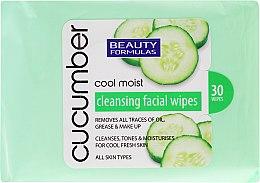 Kup Chusteczki do demakijażu z ekstraktem z ogórka - Beauty Formulas Cucumber Cleansing Facial Wipes