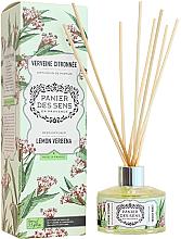 Kup PRZECENA! Dyfuzor zapachowy Cytryna i werbena - Panier Des Sens Lemon Verbrna Reed Diffuser *