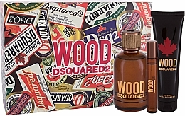 Kup Dsquared2 Wood Pour Homme - Zestaw (edt 100 ml + edt 10 ml + sh/gel 150 ml)