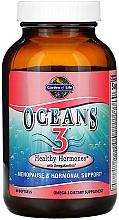 Kup Suplement diety Zdrowe hormony z tłuszczami omega - Garden of Life Oceans 3 Healthy Hormones