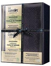 Kup Zestaw - La Corvette Douceur Bio Gift Box (soap/2x100g + towel/1pcs)