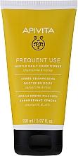 Kup Delikatna odżywka do wszystkich rodzajów włosów Rumianek i miód - Apivita Gentle Daily Conditioner For All Hair Types With Chamomile & Honey