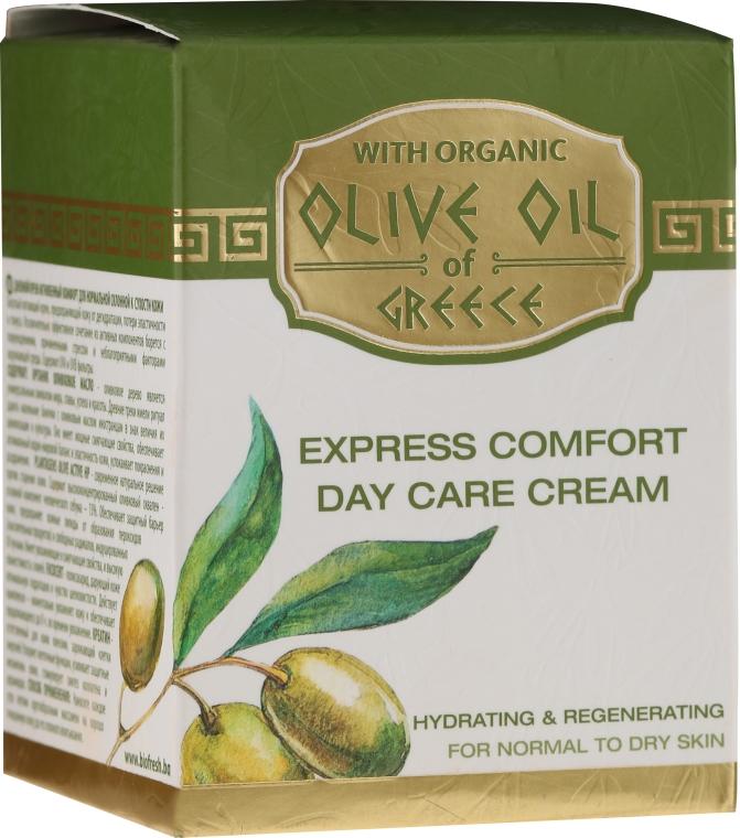 Krem do twarzy na dzień przynoszący natychmiastową ulgę - BioFresh Olive Oil Of Greece Express Comfort Day Care Cream — фото N3