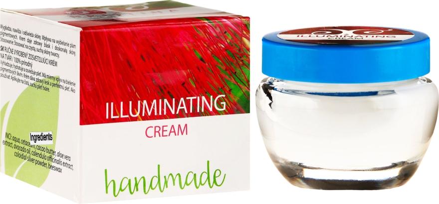 Rozświetlający ręcznie robiony krem nawilżający do twarzy - Hristina Cosmetics Handmade Illuminating Cream — фото N1