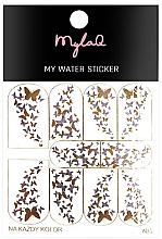 Kup Naklejki na paznokcie Motyle - MylaQ My Water Sticker