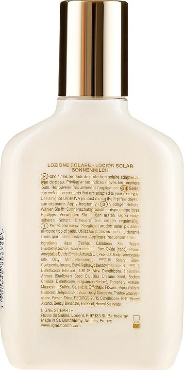 Przeciwsłoneczny balsam do ciała - Ligne St Barth Sunscreen Lotion SPF 10 — фото N2